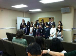 SONATINA HONORS RECITAL 2012