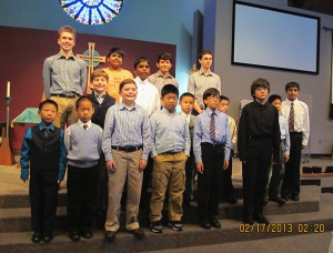 Boys recital2 2013