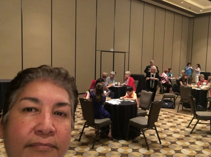 Diana Lopez at the certification tea given in honor of all the Nationally Certified Teachers of Music.
