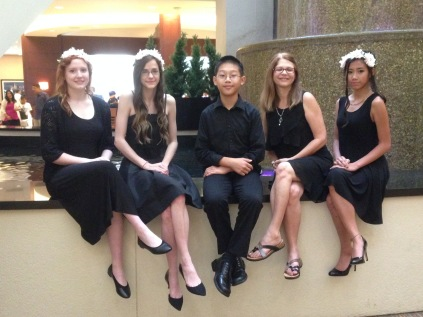 (L - R)Natalie Carey, Hannah Townsend, Ryan Chen, Kay Lowry (Director), Kendra Nguyen