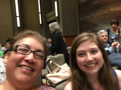 Enjoying recital by State and National Winners! D Lopez and S Rybicki